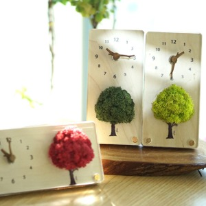 [Alvin Design] MOSS TABLE CLOCK